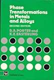 Phase Transformations in Metal, Porter, D. A., 0412450305