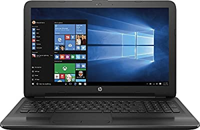 "2017 HP 15.6"" HD WLED Backlit Display Laptop, AMD A6-7310 Quad-Core APU 2GHz, 4GB RAM, 500GB HDD WiFi, DVD+/-RW, Webcam, Windows 10, Black from hp"