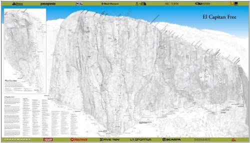 El Capitan Free Climbing Poster - Climbing El Capitan Yosemite