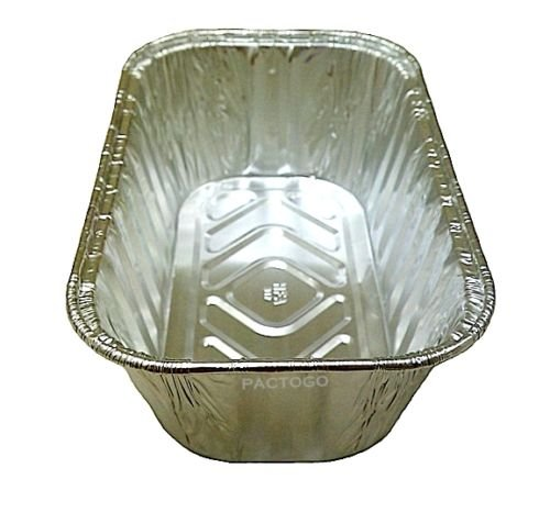 Handi-Foil 1 lb. Aluminum Foil Mini-Loaf/Bread Pan - Disposable Tins (pack of 200) by Handi-Foil (Image #1)