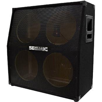 Amazon.com: Seismic Audio - SA-412SlantEmpty - 4x12 Slant Empty ...