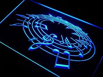 Music Notes Room LED Sign Neon Light Sign Display j019-b(c)