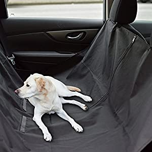 Dog Hammock For Car Back Seat Clean Waterproof Nonslip 60 X 58 Large Big Black