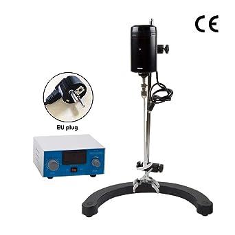 IDABAY Eléctrico Agitador Mezclador Máquina para Laboratorio Eléctrico Licuadora pantalla LCD capacidad de 50-250L