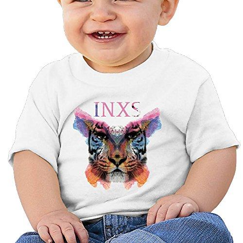 Hilal Trum Rock Band 6-24 Months Kids Short Sleeve T-shirt 12 Months White (Playmobil Kids Doll House)