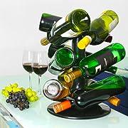 Se cercate una soluzione per conservare i vostri vini, invece della solita cantinetta dovreste valutare  questo portabottiglie girevole.