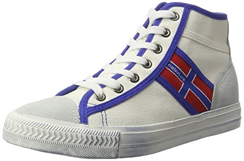 Nebulus  York,  Damen Hohe Sneaker Weiß (Weiß)