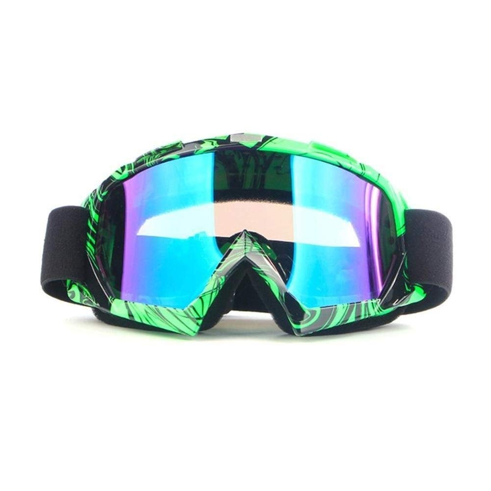 YUANYUAN521 Safety Glasses Protective Glasses for Motorcycle Rider Work Protection Riding Skiing Transparent Goggles Welding Glasses (Color : 7) by YUANYUAN521
