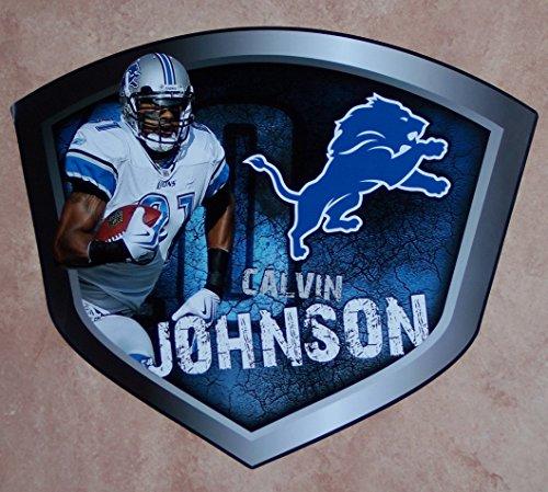Calvin Johnson FATHEAD Detroit Lions