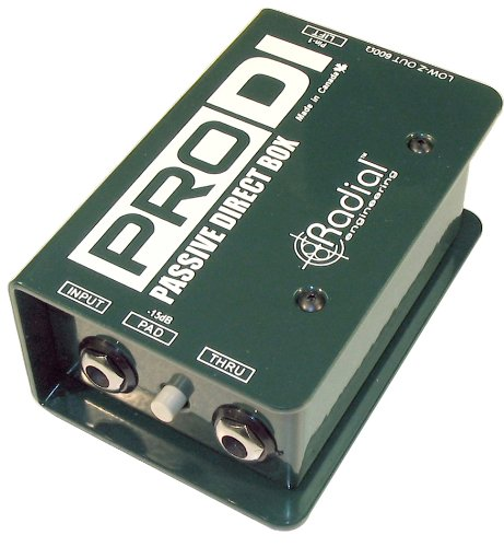 Radial Pro DI Passive Direct (Bass Guitar Direct Boxes)