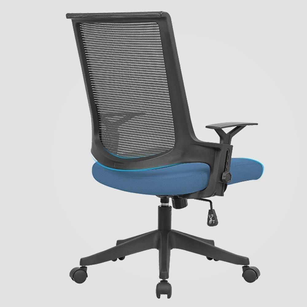 Barstolar Xiuyun kontorsstol spelstol datorstol uppgift skrivbordsstol personalstol självkontroll lyft räcke vikt 200 kg flera färger (färg: C) J