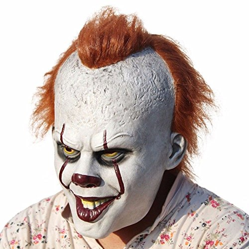 Pinxuan Halloween Costume Party Masks Movie Stephen King's