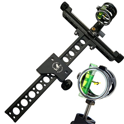 HRCHCG Compound Bow Sight 1 Pin 0.059