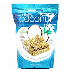 Fun & Unique Cookies and Cakes from Around the World!Tropical Fields Crispy Coconut Rolls 5 oz each (2 Items Per Order, not per case) Perfect for any occasion, these coconut rolls are crafted with natural ingredients like fresh coconut mi...