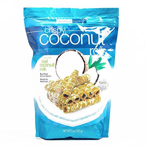 Tropical Fields Crispy Coconut Rolls 5 oz each (3 Items Per Order, not per case)