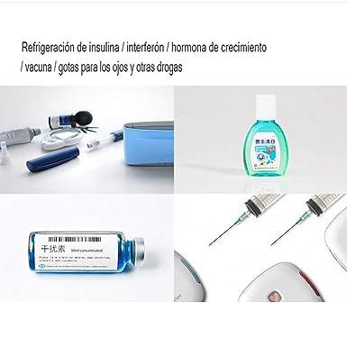 MaquiGra Nevera Portátil para Medicamento Nevera Inteligente para ...