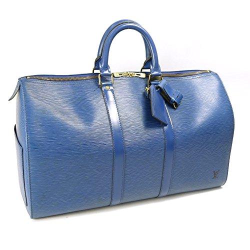 LOUIS VUITTON(ルイヴィトン) エピ キーポル45 ボストンバッグ M42975 ブルー [中古] B01BR320J2