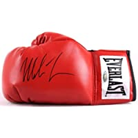 $283 » Mike Tyson Autographed Signed Red Everlast Boxing Glove (JSA COA)