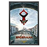 SnapeZo Movie Poster Frame 27x40, White, 1.25