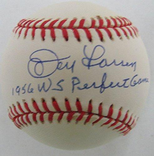Don Larsen NY Yankees 1956 WS Perfect Game Signed OAL Baseball JSA ()