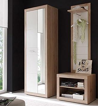 Froschkonig24 3 Tlg Garderobe Can Can Dielenmobel Kompaktgarderobe