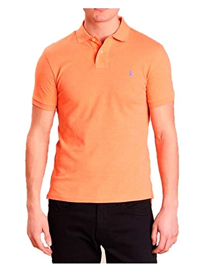 Ralph Lauren - Polo Manga Corta Color Naranja - Naranja, S: Amazon ...