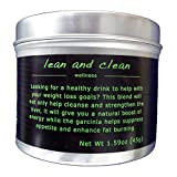 LEAN AND CLEAN plus DETOXIFY ME Tea 2 x 45g - to Help Detox, Promote Weight Loss, Control Appetite and Provide a Boost of Energy with Garcinia, Dandelion, Senna and Milk Thistle