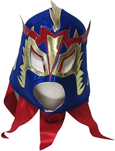 【プロレス マスク】究極龍 ウルティモ・ドラゴン 応援用マスク byアレナメヒコ ブルー ルチャリブレ プロレス