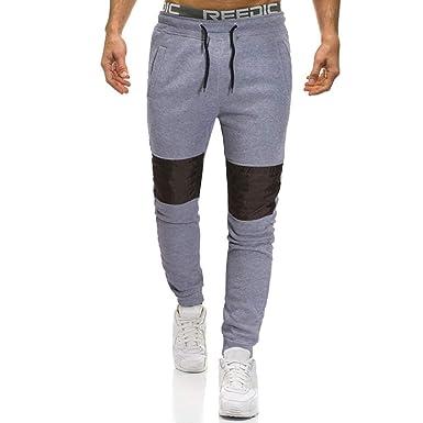 Pantalones de Chándal Moda Impresos Jogging Casual Pantalón Hombre ...