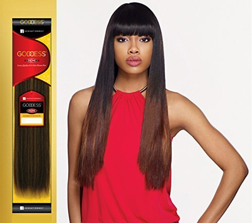 (Remi Human Hair Weave Sensationnel Original Goddess Yaki 8