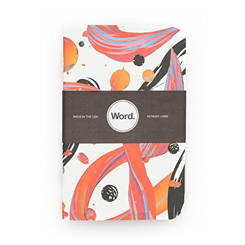 Word. Notebooks Artist - Velvet Spectrum (3-pack) Photo #4