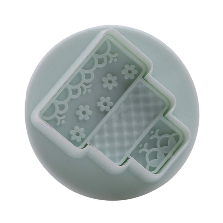 1# JOOFFF Biskuitform Backform Kleid Serie Fondant Kuchen Druckpresse Form Icing Cube Form Kuchen Dekorieren Mold Tools