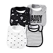 Carter's Baby Boys 4-Pack Ahoy Bibs