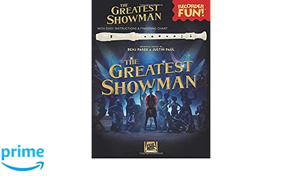 Amazon The Greatest Showman Recorder Fun With Easy