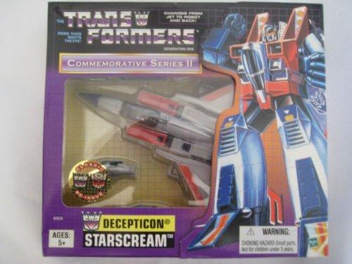 Transformer G1 Commemorative Series II STARSCREAM - Starscream Reissue