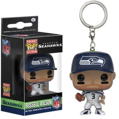 Funko POP Keychain: NFL - Russell Wilson Action Figure