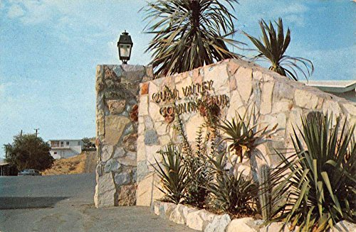 Quail Valley California Country Club Entrance Vintage Postcard K72818 (Club Valley Country)