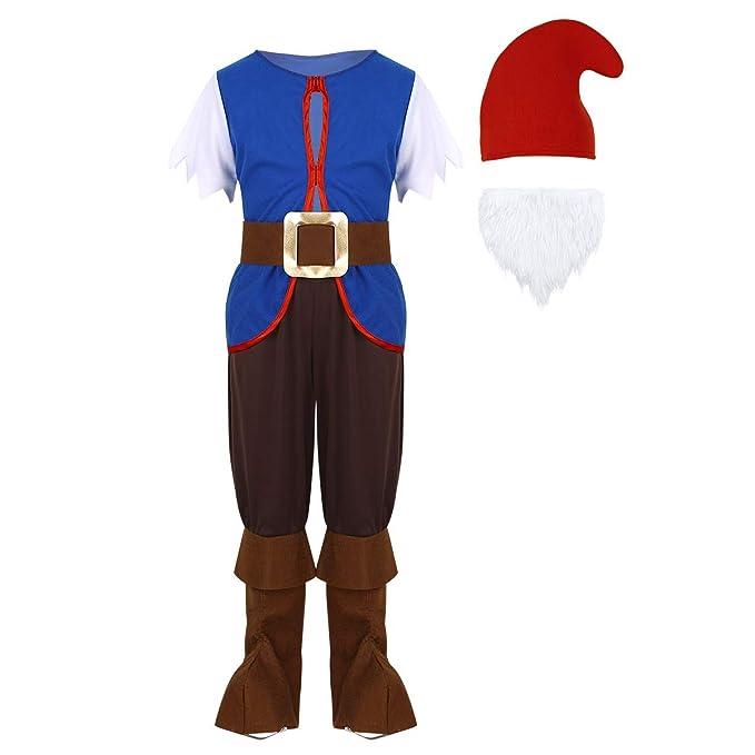 YiZYiF Disfraz de Duende Infantil 5PCS Traje de Elfo Seta para Unisex Niños Conjunto Ropa de Navidad Chrismas Costume Mushroom 2-5 Años: Amazon.es: Ropa y ...