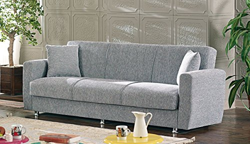 BEYAN Niagara Collection Modern Fold Out Convertible Sofa...