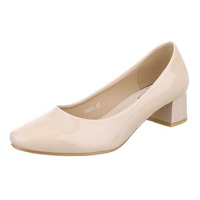 Ital-Design - Cerrado Mujer , color beige, talla 37 EU