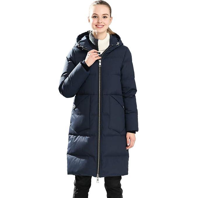 Amazon.com: UAISI - Chaqueta de esquí para mujer, plumón de ...