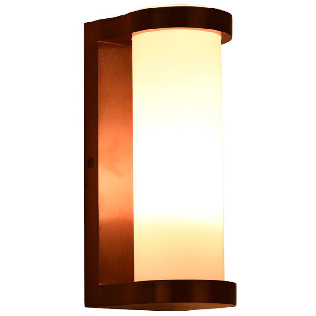 Lampada da parete moderna cinese lampada da parete balcone corridoio corridoio di vetro