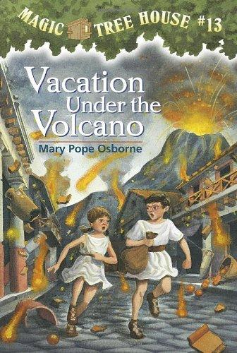 Vacation Under the Volcano - Book  of the Das magische Baumhaus