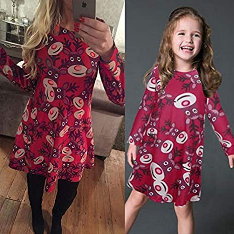 Mother Christmas Outfits Plus Size.4xl 5xl Plus Size Mother Daughter Dress Christmas Vestidos