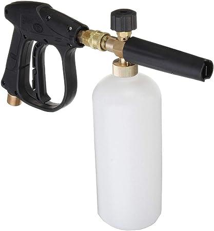 "1//4/"" Pressure Snow Foam Washer Jet Car Wash Adjustable Lance Soap Spray Cannon"