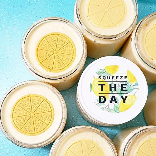 Lemon Exfoliating Body Scrub, 10 oz. Citrus Bath and Body Gift for Her