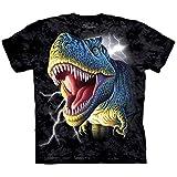 The Mountain Little Boys' Youth Lightning Rex Shirt