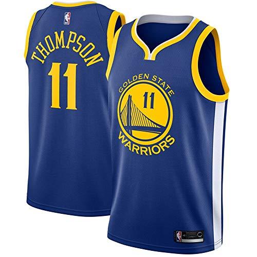 Men's Golden State Warriors #11 Klay Thompson Royal Swingman Jersey - Icon Edition M ()
