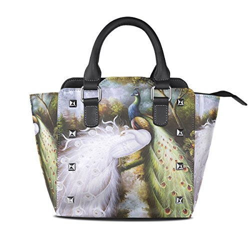 Lianchenyi - Cloth Bag Pu Leather For Women Multicolor One Size Fits All