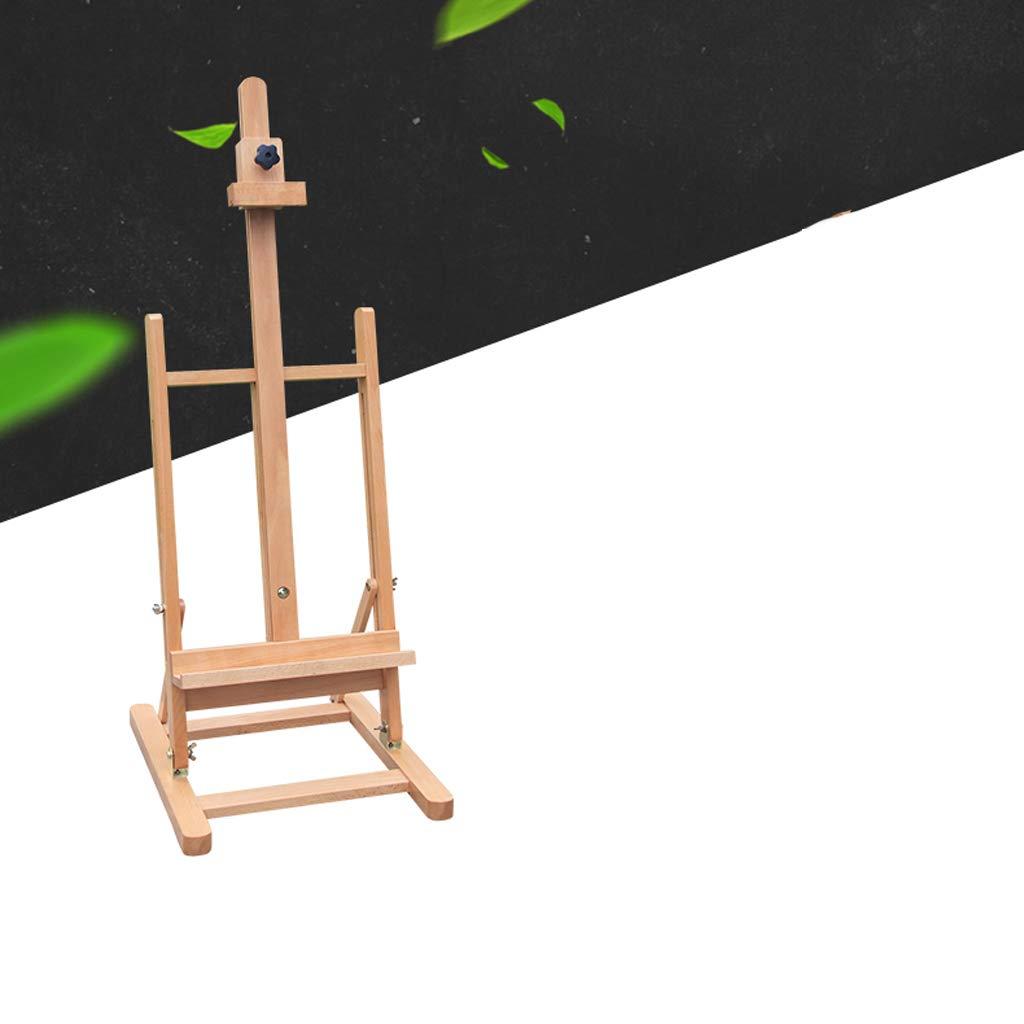 SHWSM 大人用の学生や子供たちに適した木製の大型テーブルイーゼル、ディスプレイスタンド、ウッドカラー イーゼル   B07QXJKPZR